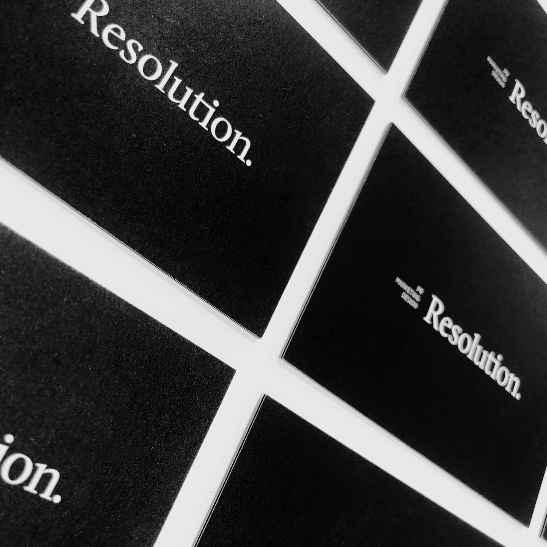 Resolution.
