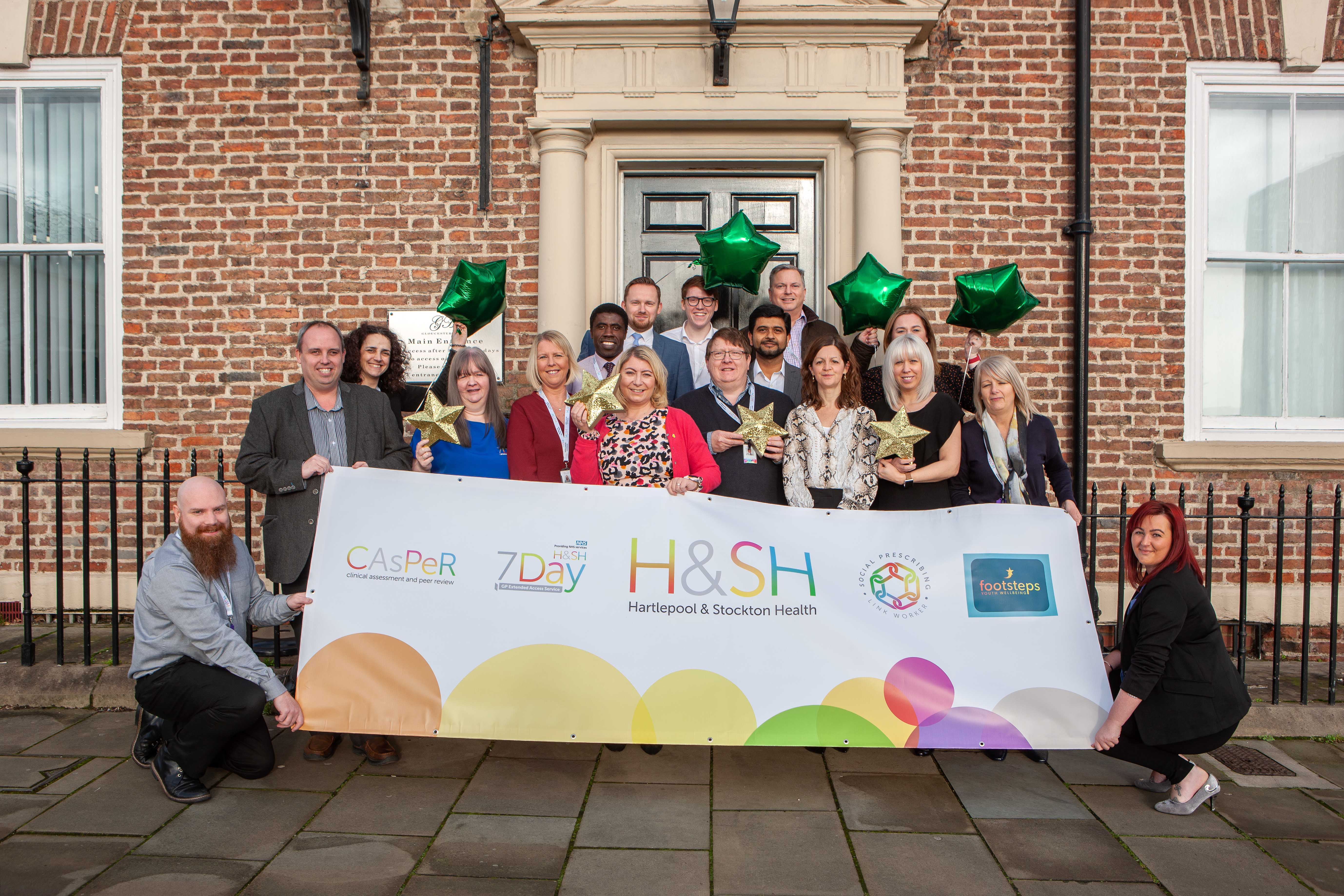 Hartlepool and Stockton Health celebrates CQC outstanding rating